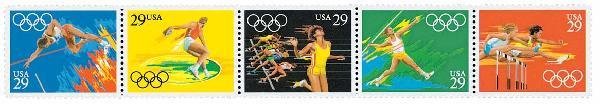 1991 29c Summer Olympics