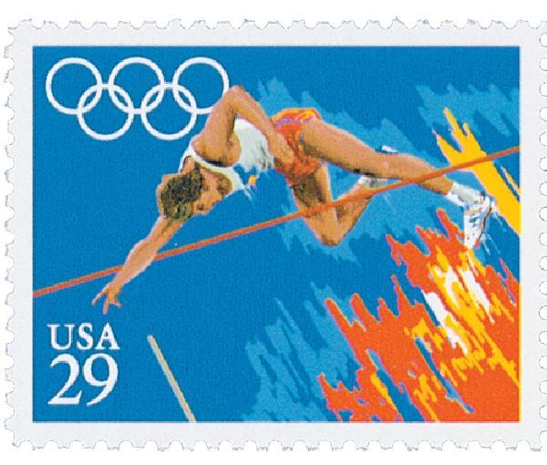 1991 29c Summer Olympics: Pole Vault