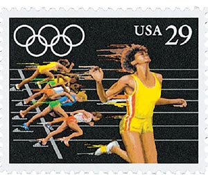 1991 29c Summer Olympics: Sprint