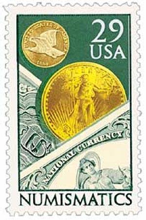 1991 29c Numismatics