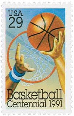 1991 29c Basketball