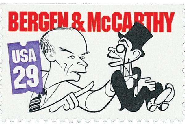 1991 29c Comedians: Edgar Bergen