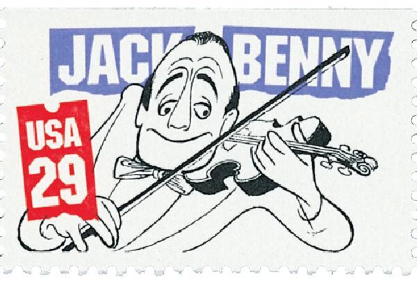 1991 29c Comedians: Jack Benny