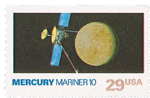1991 29c Space Exploration: Mercury