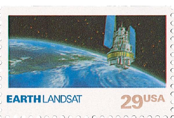 1991 29c Space Exploration: Earth