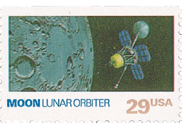 1991 29c Space Exploration: Moon
