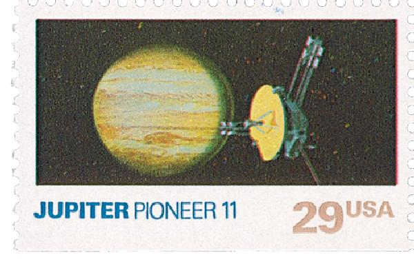 1991 29c Space Exploration: Jupiter