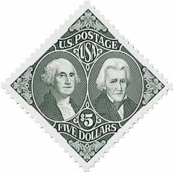 1994 $5 Washington and Jackson