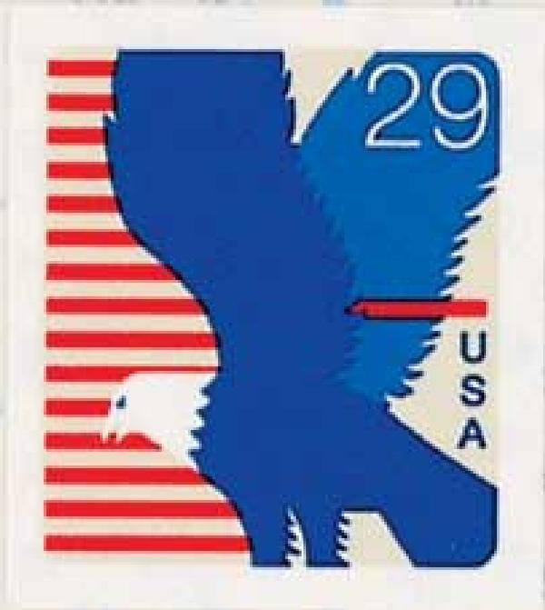 1994 29c Eagle, self-adhesive