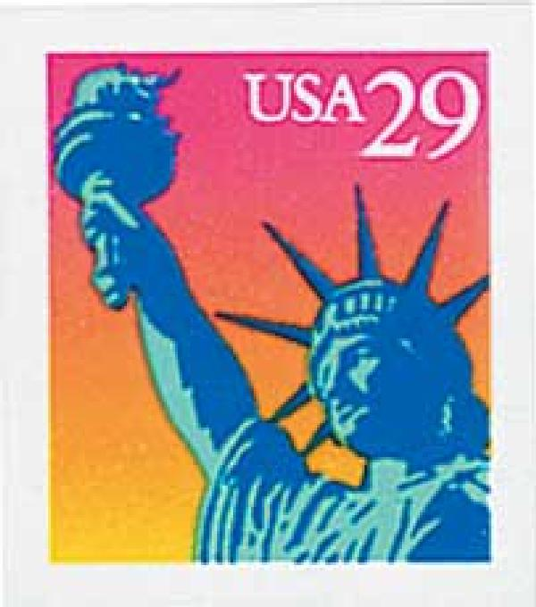 1994 29c Statue of Liberty, self-adh