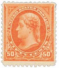 1894 50c Jefferson, unwatermarked