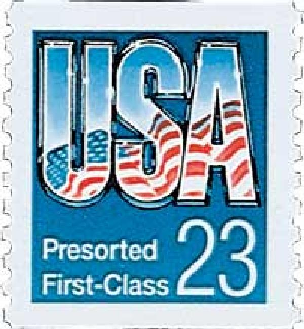 1992 23c USA Presort, ABN coil