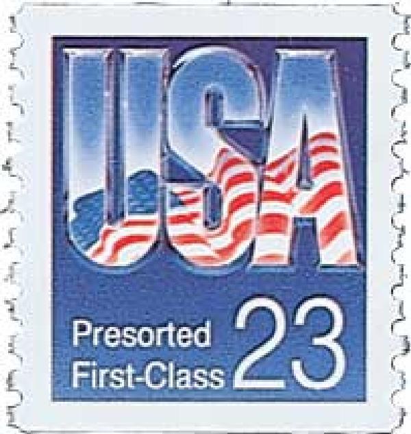 1993 23c USA Presort, SV coil