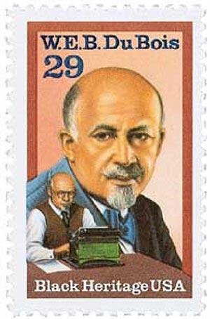 1992 29c Black Heritage: W. E. B. Du Bois