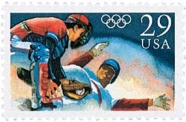 1992 29c Olympic Baseball