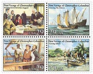 1992 29c Voyages of Columbus