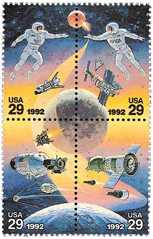 1992 29c Space Accomplishments