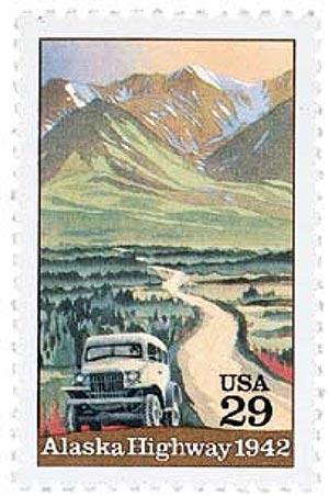 1992 29c Alaska Highway