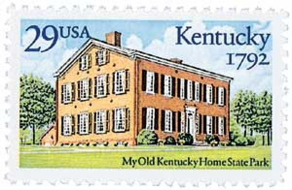 1992 29c Kentucky Statehood