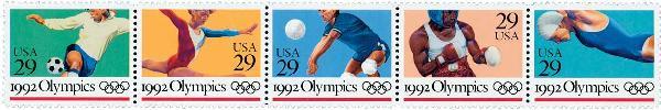 1992 29c Summer Olympics