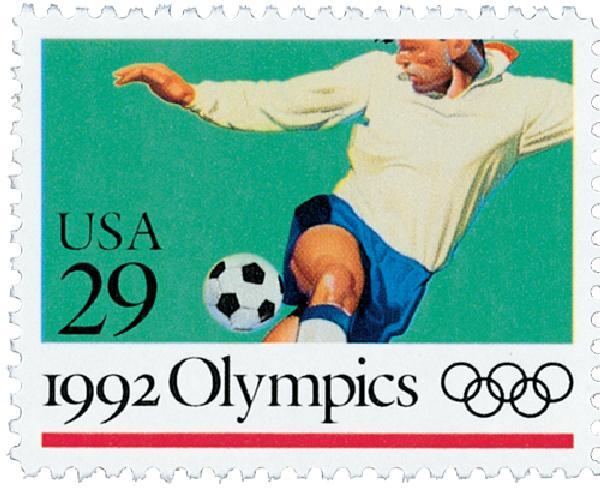 1992 29c Soccer