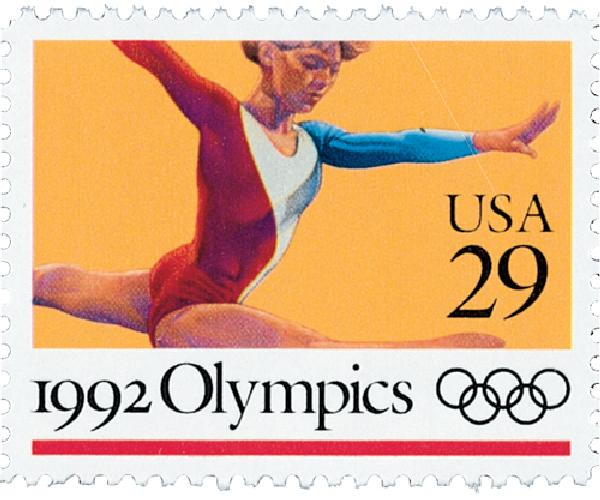 1992 29c Summer Olympics: Womens Gymnastics