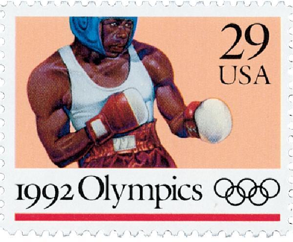 1992 29c Boxing