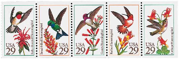 1992 29c Hummingbirds