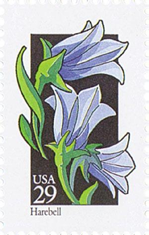 1992 29c Wildflowers: Harebell