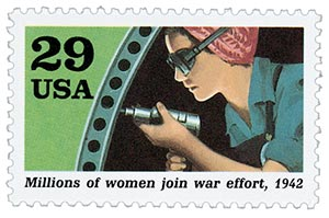 1992 29c World War II: Millions of Women Join War Effort