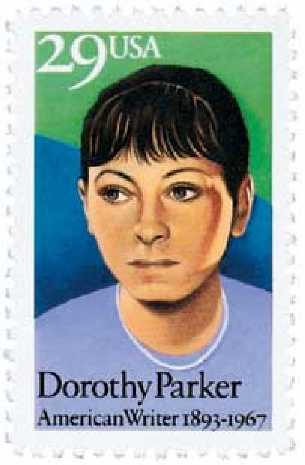 1992 29c Literary Arts: Dorothy Parker