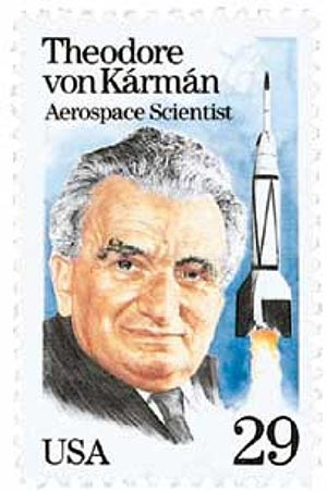 1992 29c Dr. Theodore von Karman