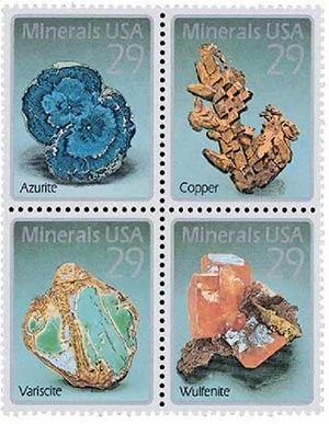 1992 29c Minerals