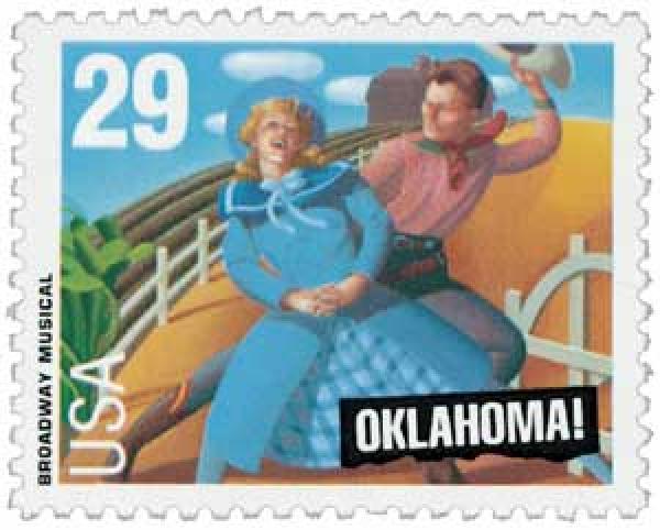 1993 29c Oklahoma!