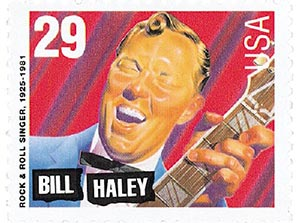 1993 29c Legends of American Music: Bill Haley