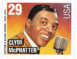 1993 29c Clyde McPhatter,single