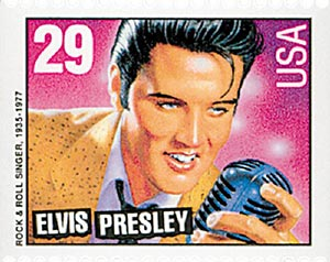 1993 29c Elvis Presley,bklt single