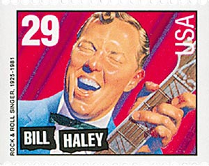 1993 29c Legends of American Music: Bill Haley, booklet single