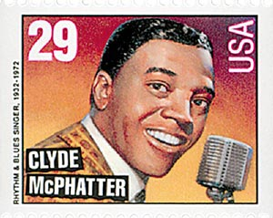 1993 29c Legends of American Music: Clyde McPhatter, booklet single
