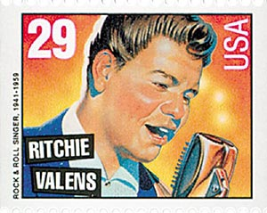 1993 29c Ritchie Valens,bklt single