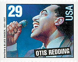 1993 29c Legends of American Music: Otis Redding, booklet single