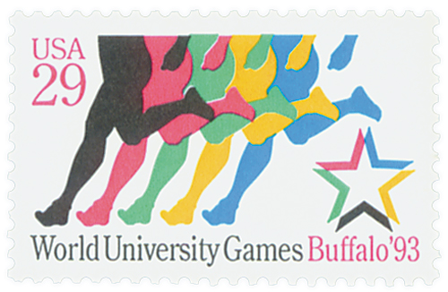 1993 29c World University Games, Buffalo