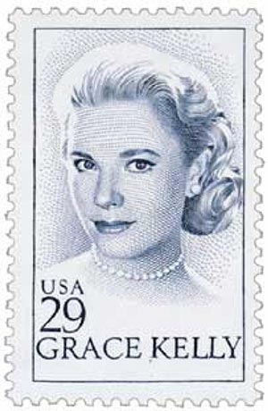 1993 29c Grace Kelly