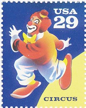 1993 29c Clown