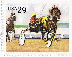 1993 29c Harness Racing