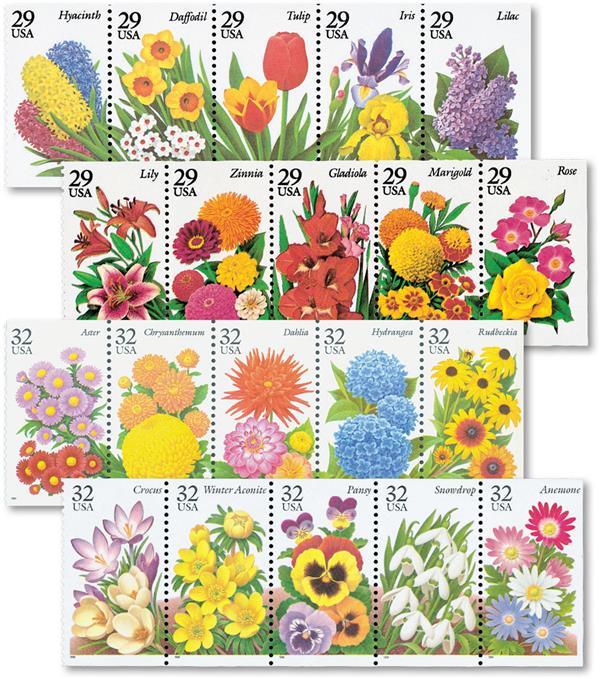 1993-96 Garden Flowers