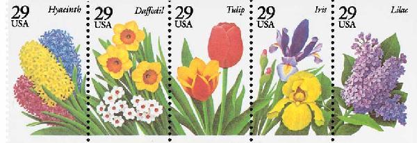 1993 29c Garden Flowers