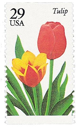 1993 29c Tulip