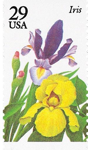 1993 29c Garden Flowers: Iris
