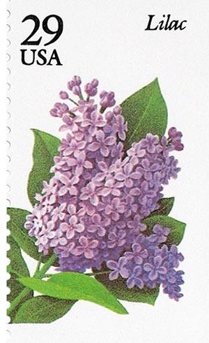 1993 29c Garden Flowers: Lilac